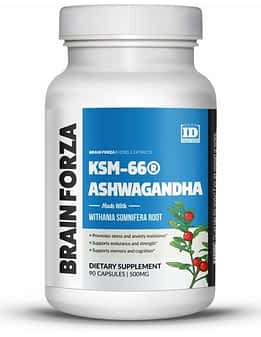 What-is-the-Best-Natural-Remedy-for-Anxiety-Brain-Forza-KSM-66-Ashwagandha
