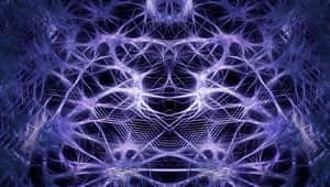 Neurons integrated with technology.