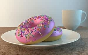 Best Supplement for Energy and Concentration - Donuts and Coffee
