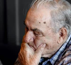 The Best Memory Supplements for Seniors - Older Man Crying