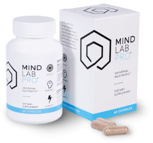 The Best Memory Supplements for Seniors - Bottle of Mind Lab Pro