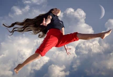 Is Alpha Lipoic Acid a Nootropic - Healthy Woman Leaping through the Air