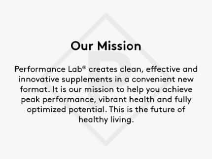 The Performance Lab Mission Statement.