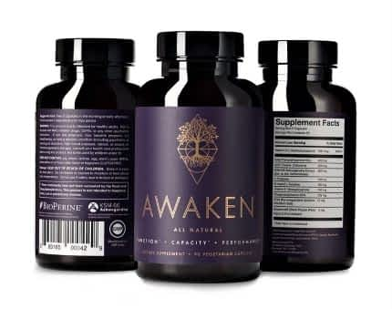 Awakened Alchemy Review - 3 Bottles of Awaken Nootropic Supplement