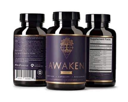 Mind Lab Pro and ADHD - 3 Bottles of Awaken Gold