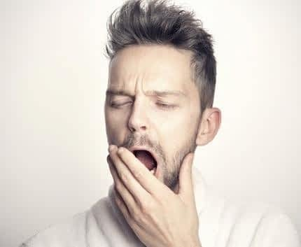 Is Sage a Nootropic - Sleepy Man Yawning