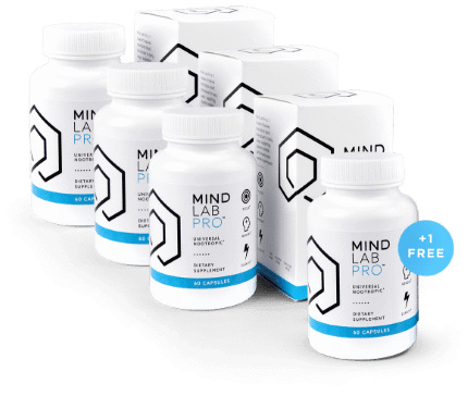 Mind Lab Pro and ADHD - 4 Bottles of Mind Lab Pro