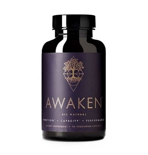 Awakened Alchemy Review - Bottle of Awaken Nootropic Supplement