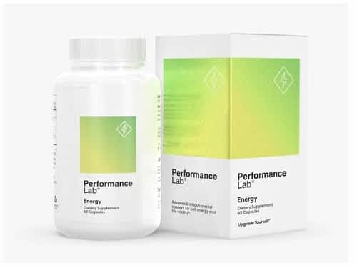 What's the Best Nootropic for Athletes - Bottle of Performance Lab Energy Nootropic Supplement