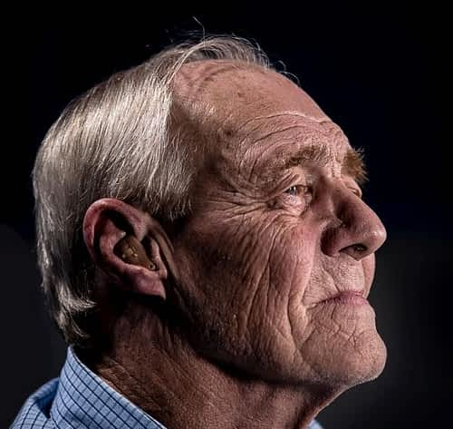 The Best Memory Supplements for Seniors - Elderly Man - Side Profile